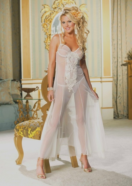 Wedding Night See Through Gown Ideas For Newlyweds The