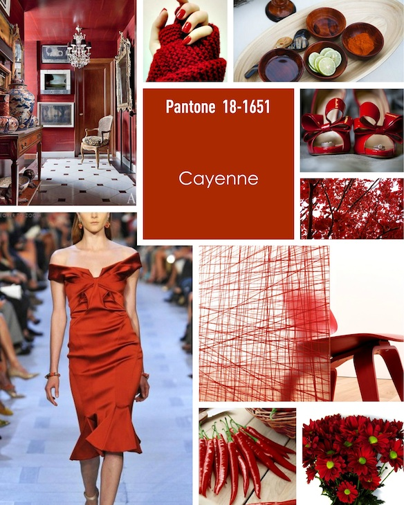 Pantone Colours For For Weddings For The Spring And Summer 2014