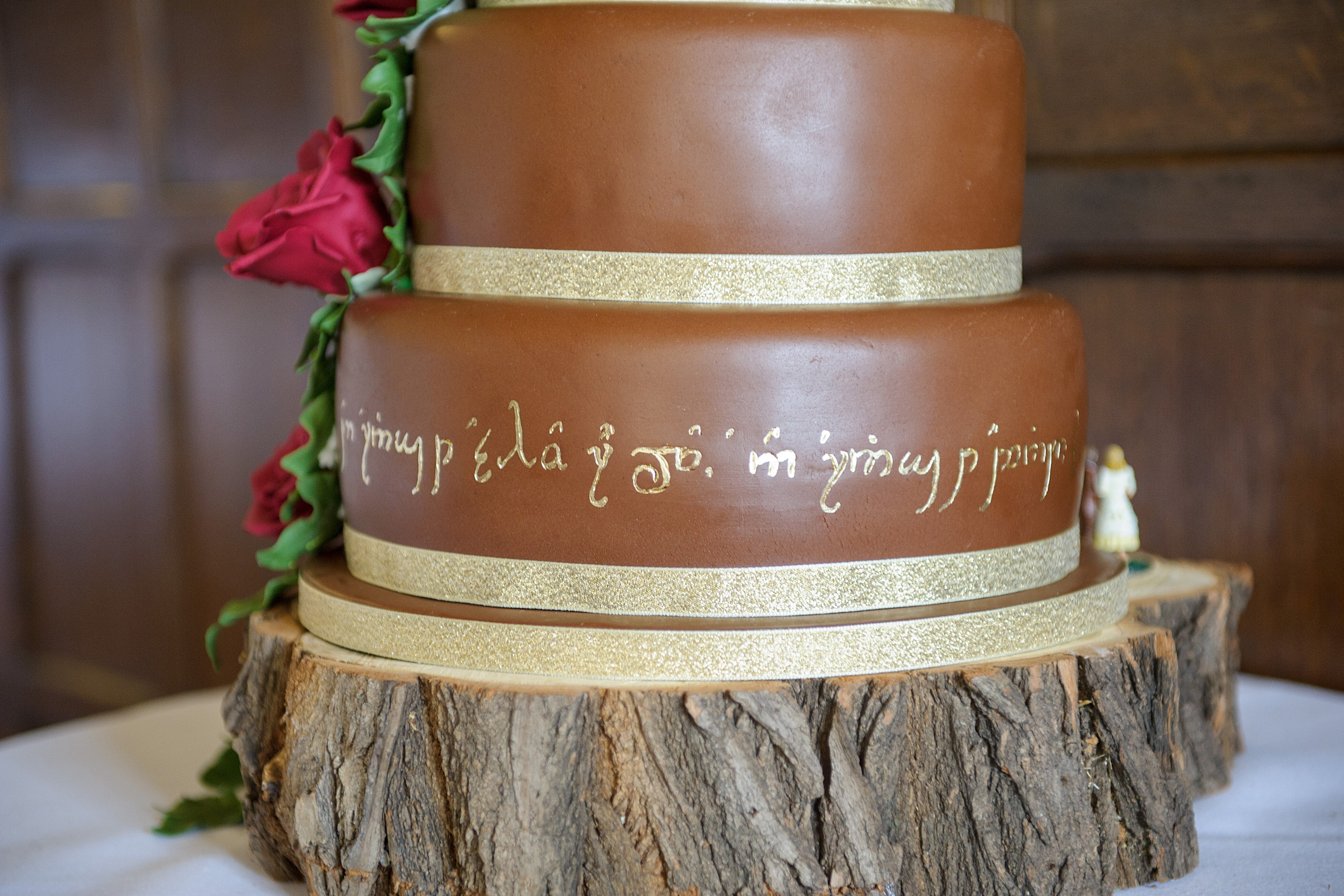 lord of the rings themed wedding cakes quot wed in middle earth quot a lord of the rings inspired 16936
