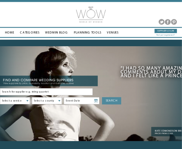 World Of Wedmin Uk Wedding Industry Comparison Site