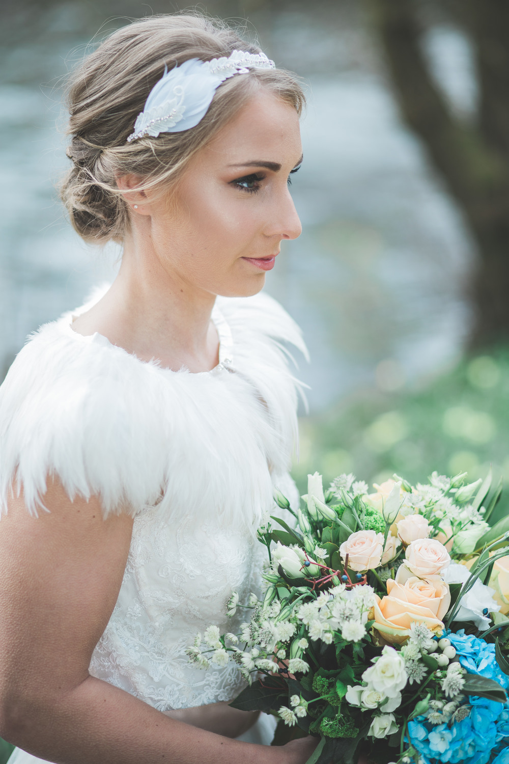 the dreamcatcher collection ~ bridal hair accessories by lhg designs