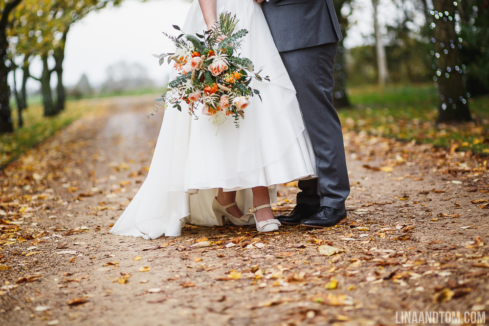 Cambridge Wedding Handmade Autumnal Autumn