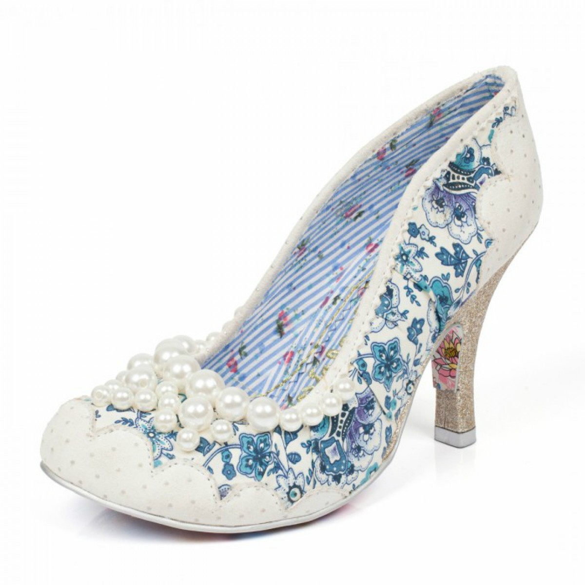 Alexis Hot Pink By Charlotte Mills Designer Wedding Shoes